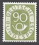 Goldhahn BRD Nr. 138 postfrisch ** geprüft 90 Pfennig Posthorn Briefmarken für Sammler