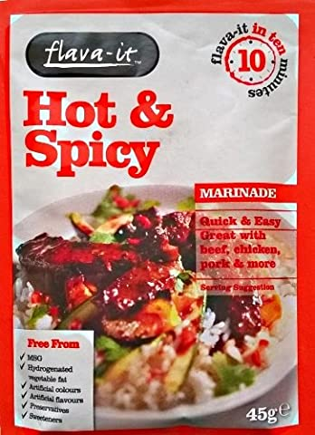Flava It Hot & Spicy 3 x 45gm