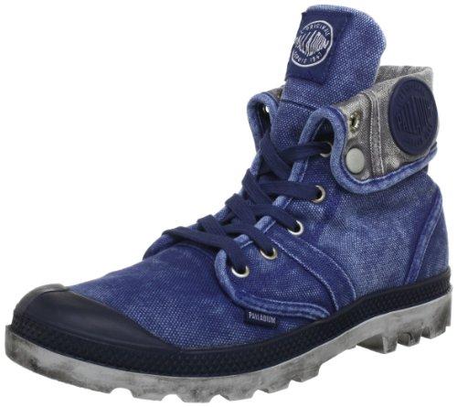 Palladium PALLABROUSE BAGGY ~M 02478-413-M, Stivaletti uomo, Blu (Blau (NAVY/METAL)), 40