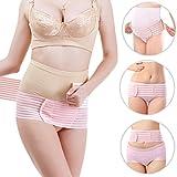 FITTOO Weiche Atmungsaktive MAX.130 cm Schwangerschaftsbandage aus Baumwolle Bauch Rücken