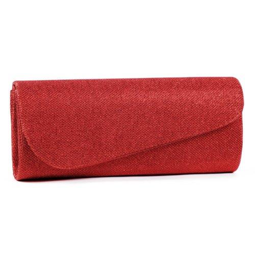 Damara-Schrg-Abdeckung-Shimmert-Damen-Clutch-Abendtasche