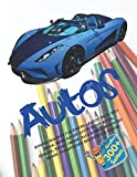 Ruhiges Malbuch für Kinder - Autos. Groß 300+ Seiten. Mehr als 100 Autos:...