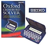 SEIKO Oxford Crossword Solver ER3200 ( The World's Most Trusted Dictionaries The ultimate electronic crossword solver, including a unique and powerful knowledge search facility, plus 8 other useful features and 10 great word games. Oxford's lexicographers have collated a massive 250,000 words for this new electronic version of the Oxford Crossword Dictionary so that you can now complete your cross