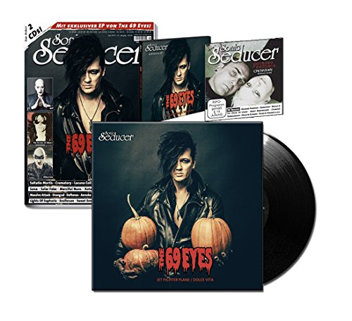 Sonic Seducer 04-2016 limited Edition mit Titelstory + exkl. Vinyl von The 69 Eyes (499 Ex.) + 2 CDs, u.a. eine exkl. EP zum Album Universal Monsters von The 69 Eyes u.v.m.
