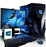 The Vibox Sharp Shooter Package 7 really is the perfect gaming PC for anyone looking to balance high performance and affordability. At it's core it boats the extremely fast, Quad Core CPU combined with plenty of RAM, a large hard drive and a extremel...