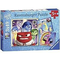 Inside Out - Puzzle, 3 x 49 piezas (Ravensburger 09370 0)
