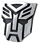 Transformers Deceptions Logo 3D Car Hood Ornament / Decal. Made of chrome plated plastic (PVC). 3D Special Chrome Finished This badge looks awesome and are prefect for your car body. Easy installation, Self Adhesive Tape is included On the Back Of Th...