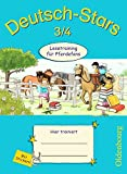 Deutsch-Stars - Allgemeine Ausgabe: 3./4. Schuljahr - Lesetraining für Pferdefans: Übungsheft. Mit Lösungen