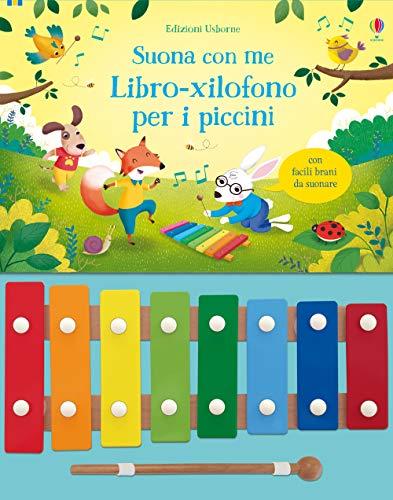 Libro-xilofono per i piccini. Suona con me. Ediz. a colori (Libri sonori) por Sam Taplin