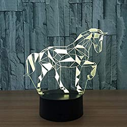 Horse 3d lamp  Drop Shipping Pls Contact us Before Buying