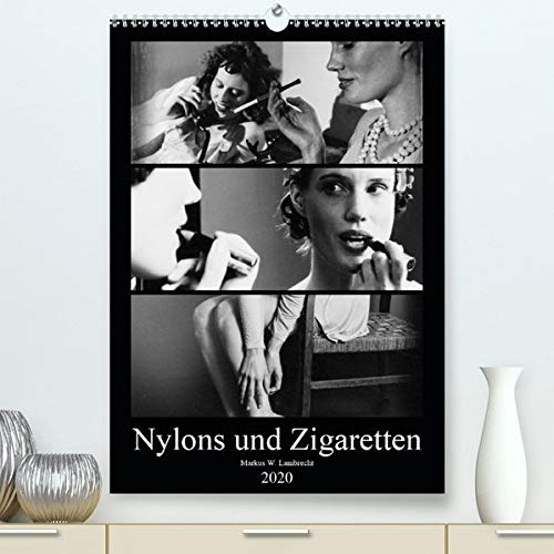 Calvendo Premium Kalender Nylons und Zigaretten: Das Porträt zweier moderner Frauen der Zwischenkriegszeit (hochwertiger DIN A2 Wandkalender 2020, Kunstdruck in Hochglanz)