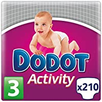 Dodot Activity - Pannolini, taglia: 3, 4-10 kg, 7 x 30 pezzi