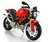 1:12 Ducati Monster 696 Diecast Model Bike Motorcycle