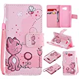 Meet de chaton pour Samsung Galaxy A3 (2016) SM-A310 Soft TPU, Samsung Galaxy A3 (2016) SM-A310 Protection Etui Souple Flexible Coque TPU Silicone Soft Case,Housse / Case pour Samsung Galaxy A3 (2016) SM-A310, Doux Silicone Bumper Case Dandelion Cover Case Housse de Protection Etui Portefeuille Bumper Case Dandelion pour Samsung Galaxy A3 (2016) SM-A310