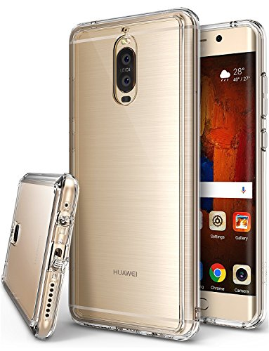 Huawei Mate 9 Pro Hülle, Ringke FUSION kristallklarer PC TPU Dämpfer (Fall geschützt/ Schock Absorbtions-Technologie) für das Huawei Mate 9 Pro - Kristallklar