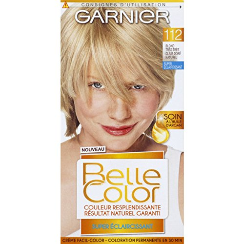 garnier belle color crme facil color blond trs trs clair dor naturel 112 - Belle Color Blond Naturel