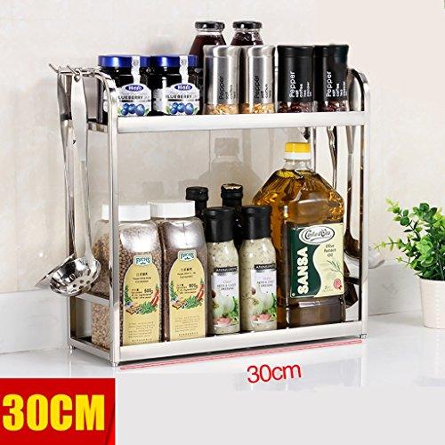 metallo-acciaio-inox-cucina-2-strati-del-forno-a-microonde-ripiano-rack-ripiano-della-cucina-e-del-g