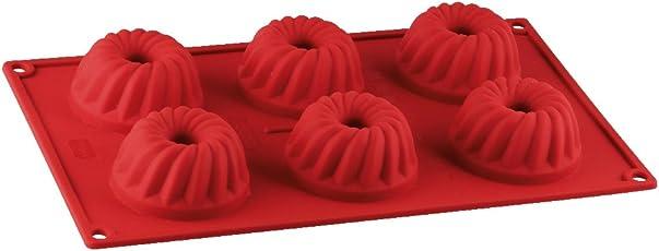 Dr. Oetker Kastenform 24 cm Flexxibel, Königskuchenform aus Silikon, Brotbackform für eindrucksvolle Kreationen, hochwertige Silikon-Kuchenform