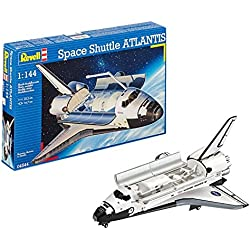 Revell- Space Shuttle Atlantis NASA, Kit de Modelo, Escala 1:144 (4544) (04544)