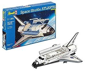 Revell Space Shuttle Atlantis NASA, Kit de Modelo, Escala 1:144 (4544) (04544), Multicolor