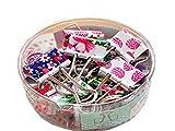 homiki Un paquet coloré Mini pinces en métal à anneaux Bureau Organiser Papier Pinces Clips Fournitures de bureau