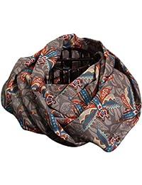 brit-M Women's Scarf multicolour Mehrfarbig, Grau One size