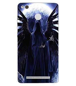 ColourCraft Dark Angel Design Back Case Cover for XIAOMI REDMI 3X
