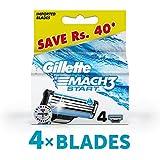 Gillette Mach3 Start Men's Razor Blades - 4 Piece