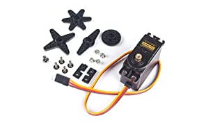 SunFounder Metal Gear Digital RC ServoMoteur High Torque for Helicopter Car Boat Robot Arduino AVR Toys Drone Fix-Wing Airplane