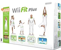 Nintendo game wii-fit plus + balance board