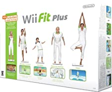 Nintendo Wii Fit Plus con Balance Board, Bianco