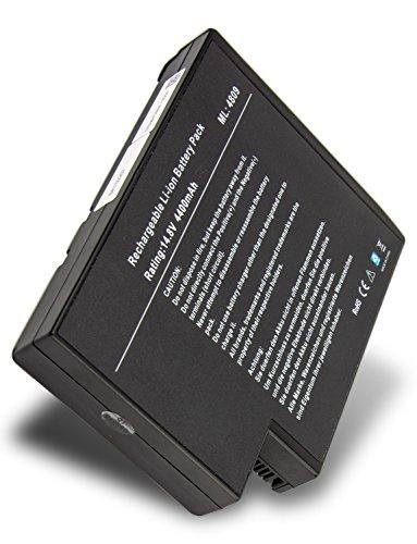 Batterie de remplacement pour Compaq PRESARIO 1100 (4400mAh/14.4V)