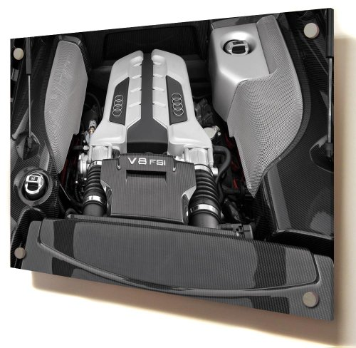 """Audi V8 Fsi, Size: 16"""" x 12"""" (40cm x 30 cm Approx),, used for sale  Delivered anywhere in UK"""
