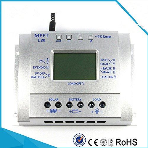 Descripción:   Tipo de artículo: Controlador solar   Desconexión por baja tensión: 10.8v/21.6v (ajustable)   pérdida sin carga: menor o igual a 40 mA   protección contra sobrepresión: 17V/34V   Modo de carga: pWM (nuestros productos cobran un 10% má...