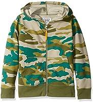 Marque Amazon / J. Crew - LOOK by crewcuts Sweat-shirt à capuche zippé sur le devant pour garçon