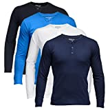 Feed Up Men's Henley Tshirt Pack of 4
