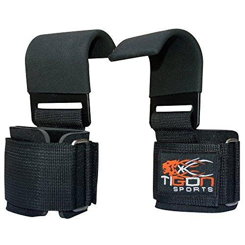Power Gewichtheben Training Gym Gurte Haken Bar Handgelenkstütze Aufzug Handschuhe Grip
