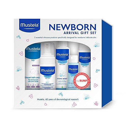 Mustela - Newborn Arrival Gift Set (Cap Shampoo Cradle)