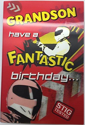 Preisvergleich Produktbild Top Gear The Stig Grandson 3D Holographic Birthday Greeting Card Age New Gift by Shop Inc