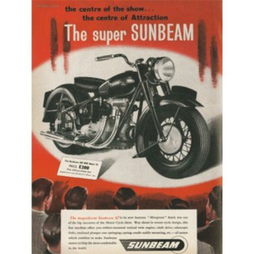 the-super-sunbeam-small-wall-sign-small-metal-wall-sign-200mm-x-150mm-sign-appox-200mm-x-150mm