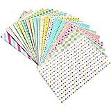 amazing-trading (TM) Lot de 20couleur pastel Film Polaroid Papier Photo Sticker Décoration