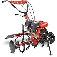 HECHT Benzin-Gartenfräse 7100 Gartenhacke Motor-Hacke Boden-Fräse Kultivator (ca. 812-1042 mm Arbeitsbreite, 3 Vorwärts- / 1 Rückwärts- gang)