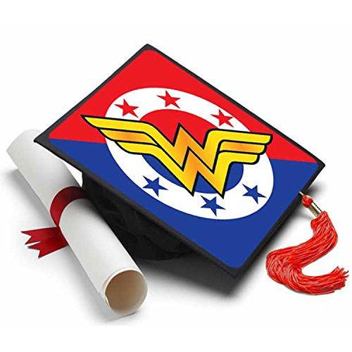 Quaste Toppers Wonder Woman Grad-Caps