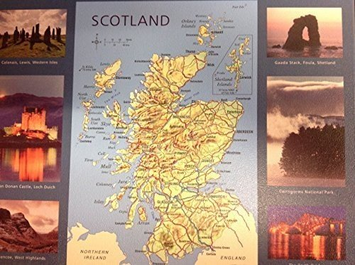 scotland-map-and-scenes-mouse-mat
