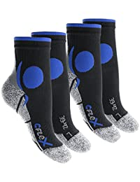 4 Paar Original CFLEX Running Socks für Sie und Ihn - stoßabfedernd, schützend, unterstützend und klimatisiert - Größen 35-46 - von celodoro