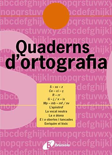 Quadern d'ortografia 7 (Català - Material Complementari - Quaderns D¿Ortografia) - 9788483047712