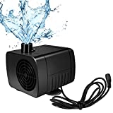 SunTop wasserpumpe Mini DC12V 5W Brushless Mini Wasserpumpe 500L/H Submersible Pumpe Amphibisch Aquarium Gartenteich Fall Fisch Behälter Wasser Brunnen Unterhaltung Kopf Heben 150cm