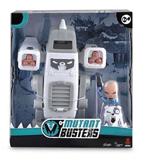 Mutant Busters - Metal Ice y David Snow, Figuras de acción...