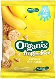 Organix Organic Banana Rice Cakes 50 g (Pack of 7)