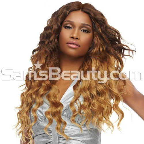 [4 Wefts Complete Set] Sensationnel Too XL Mixx - Egyptian Wave - Human Hair Blend Weave (One Pack Complete) (DXR273)